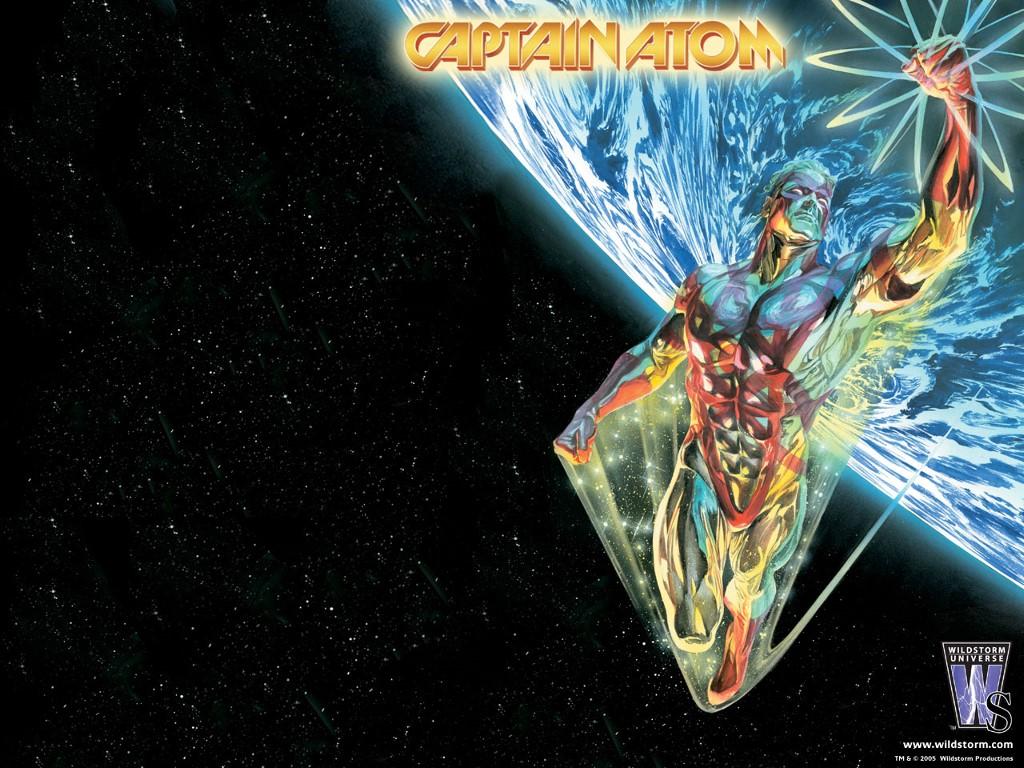 Comics Wallpaper: Captain Atom
