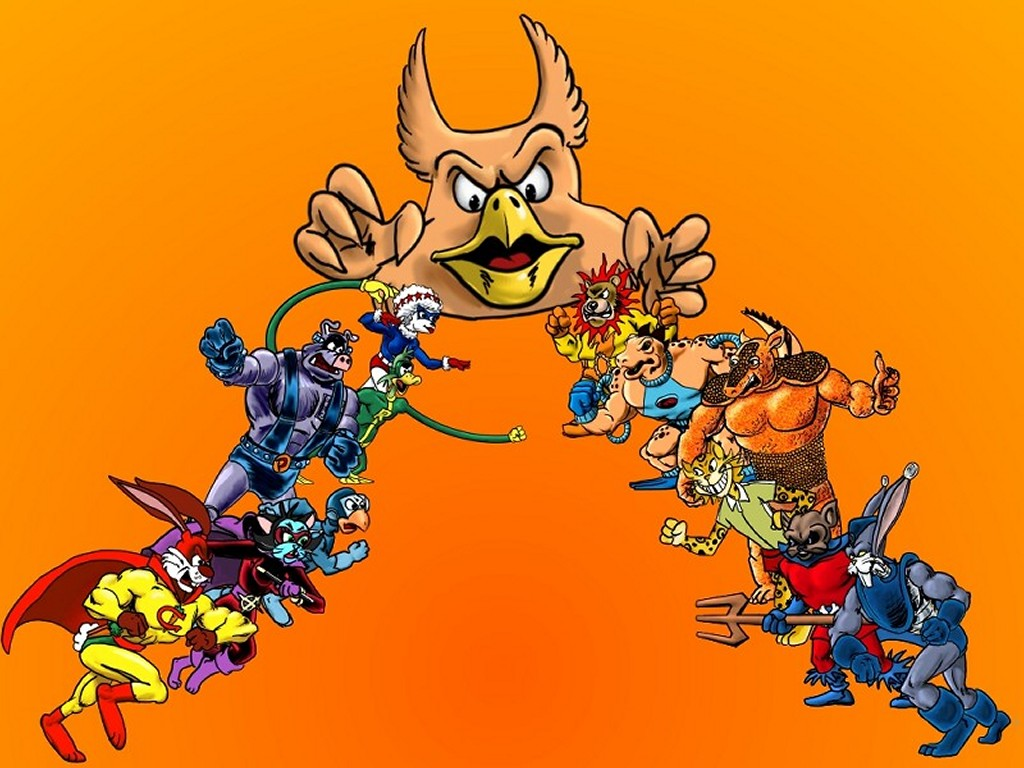 Comics Wallpaper: Captain Carrot and His Amazing Zoo Crew