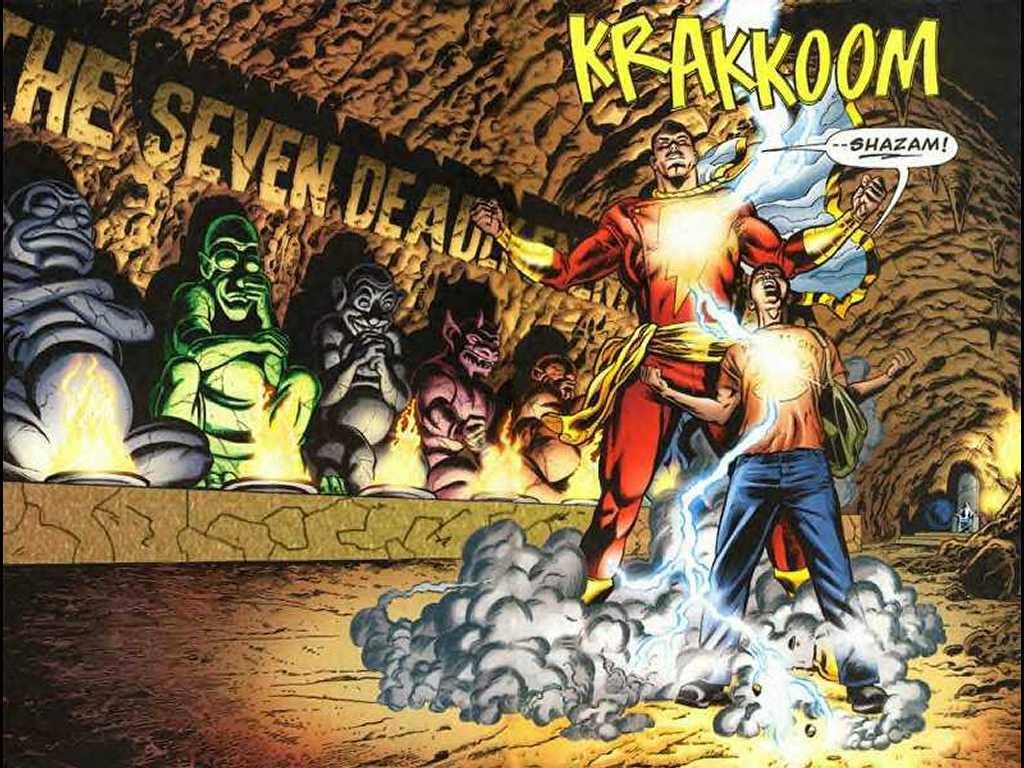 Comics Wallpaper: Captain Marvel - SHAZAM