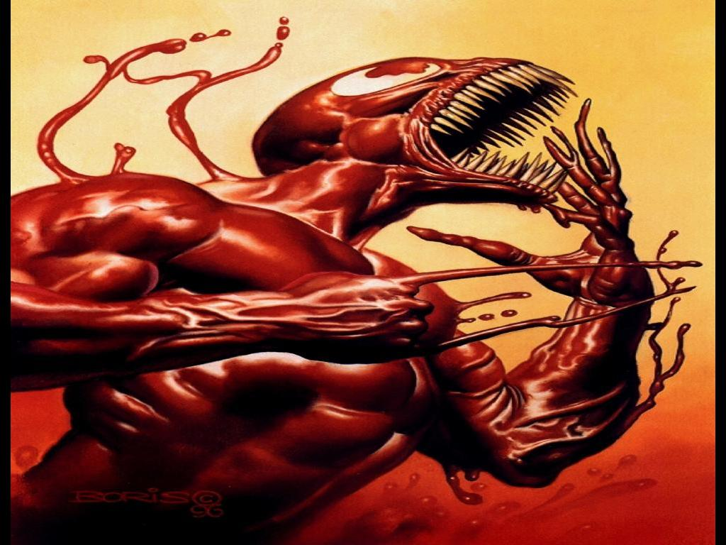 Comics Wallpaper: Carnage by Boris Vallejo