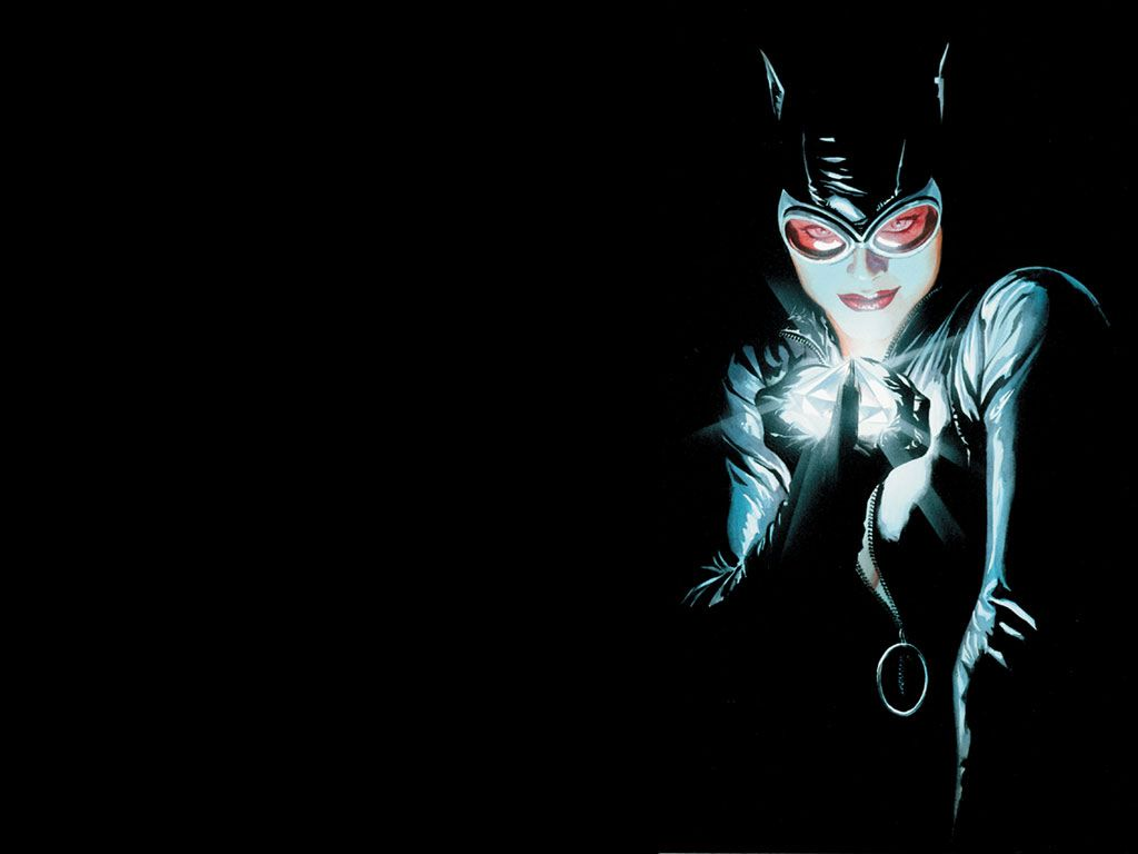 Comics Wallpaper: Catwoman (by Alex Ross)