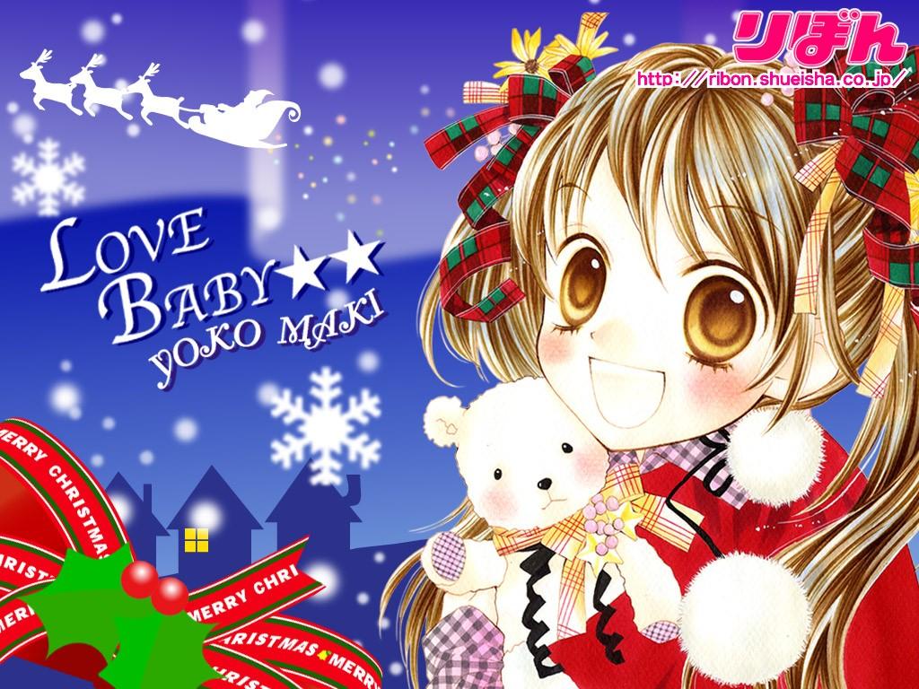 Comics Wallpaper: Christmas - Manga
