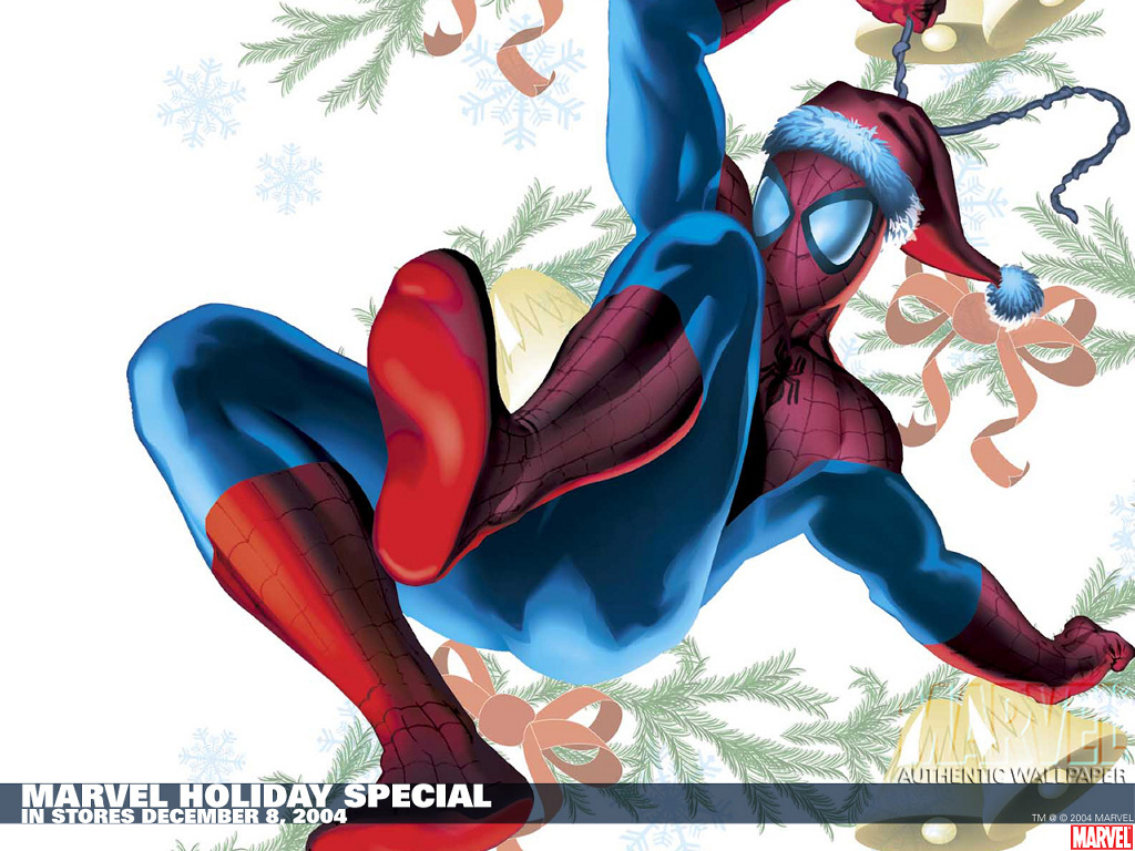 Comics Wallpaper: Christmas - Spider-Man