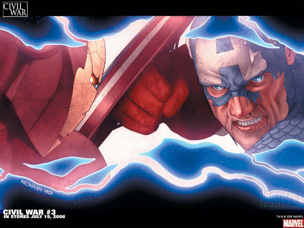 Comics Wallpaper: Civil War