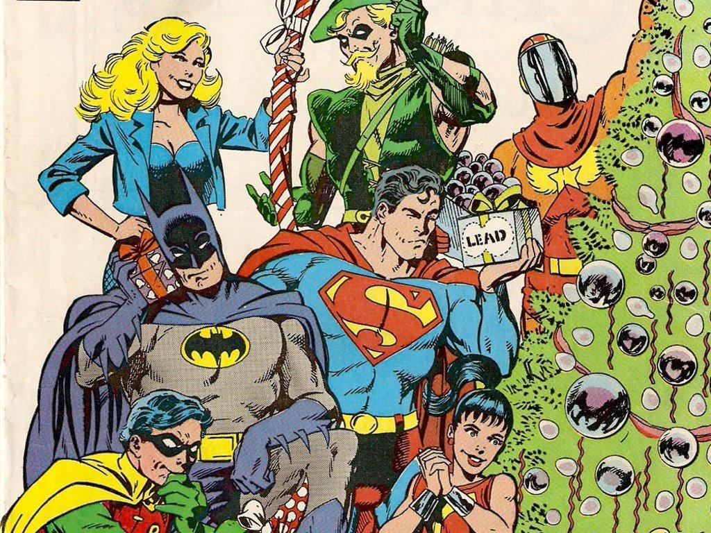 Papel de Parede Gratuito de Quadrinhos : Quadrinhos Clássicos - Natal da DC