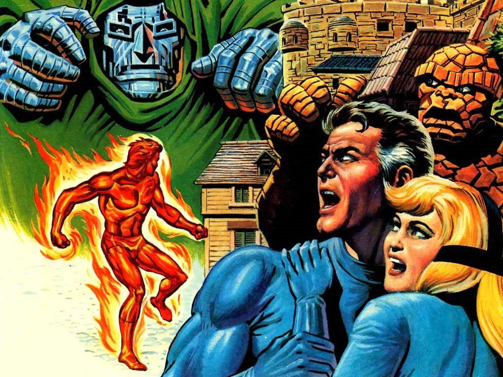 Comics Wallpaper: Classic Fantastic Four