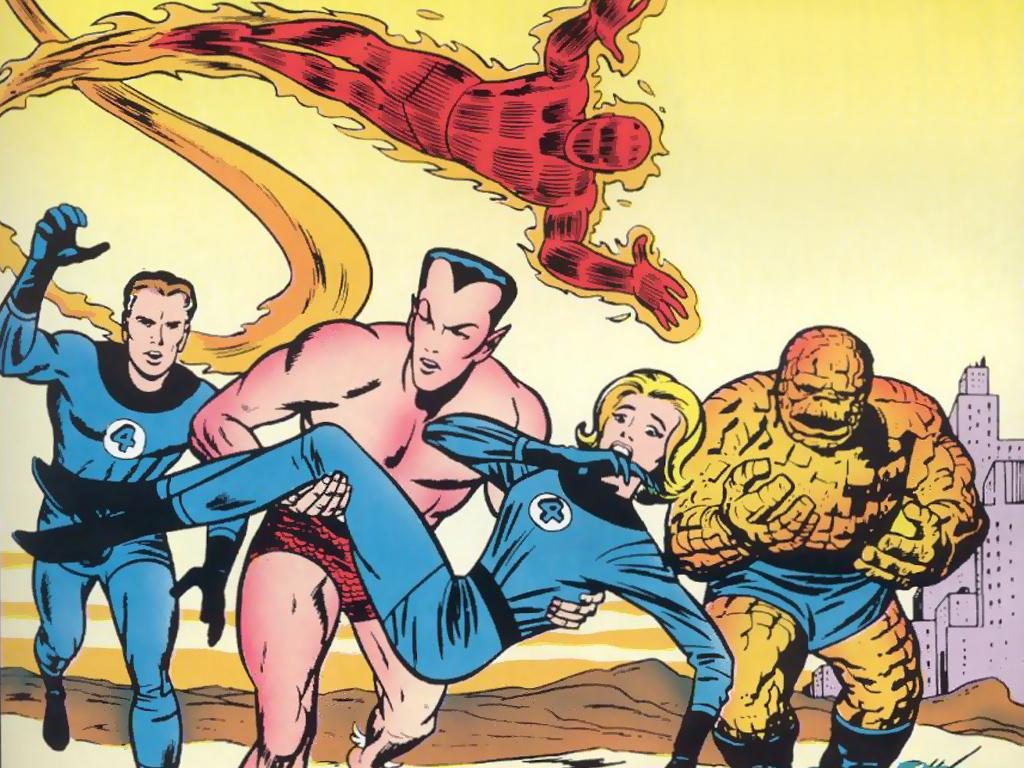 Comics Wallpaper: Classic Fantastic Four