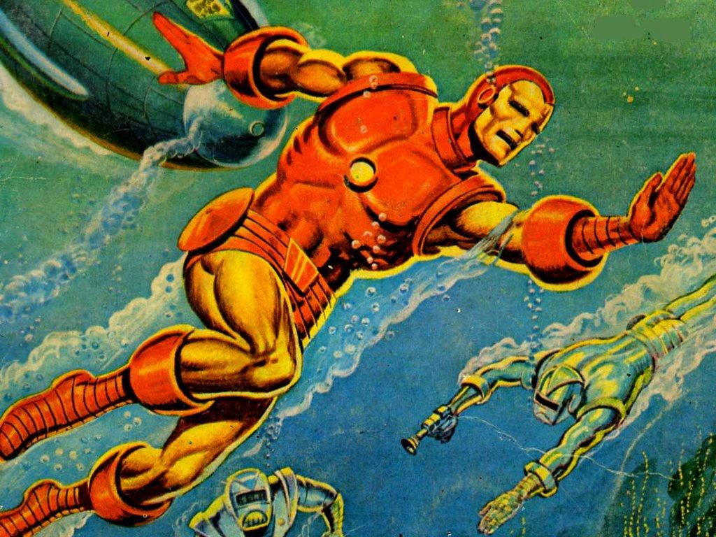 Comics Wallpaper: Classic Iron Man