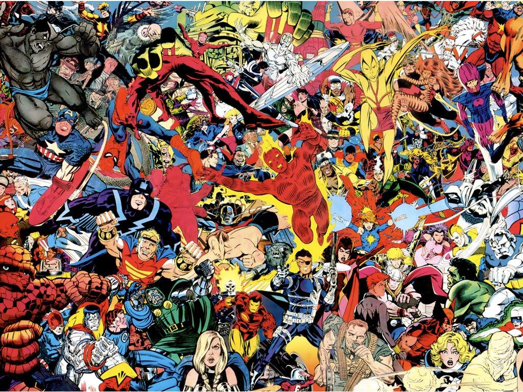 Comics Wallpaper: Classic Marvel
