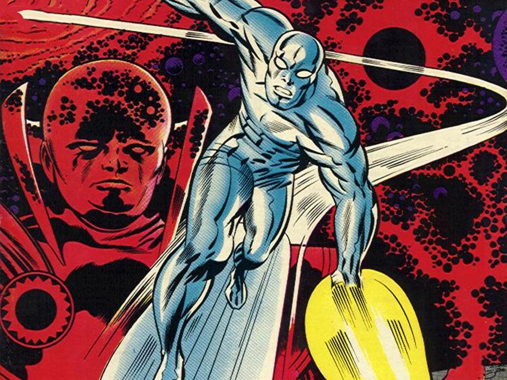 Comics Wallpaper: Classic Silver Surfer