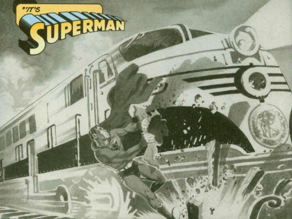 Comics Wallpaper: Classic Superman