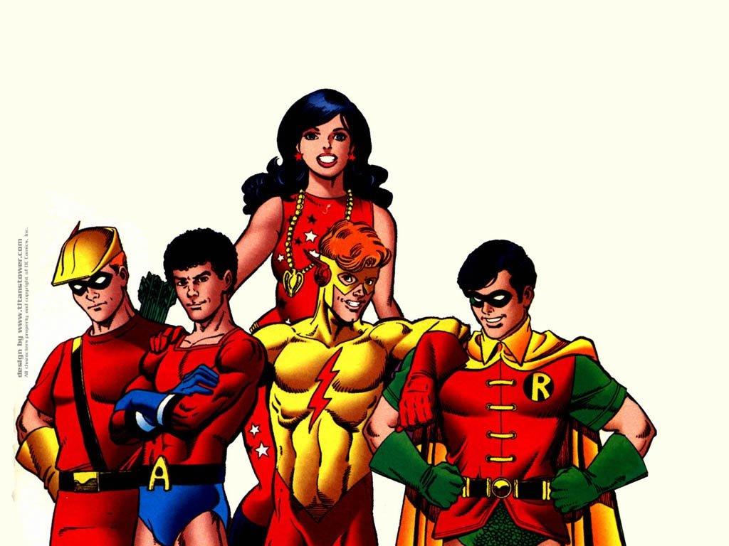 Comics Wallpaper: Classic Teen Titans