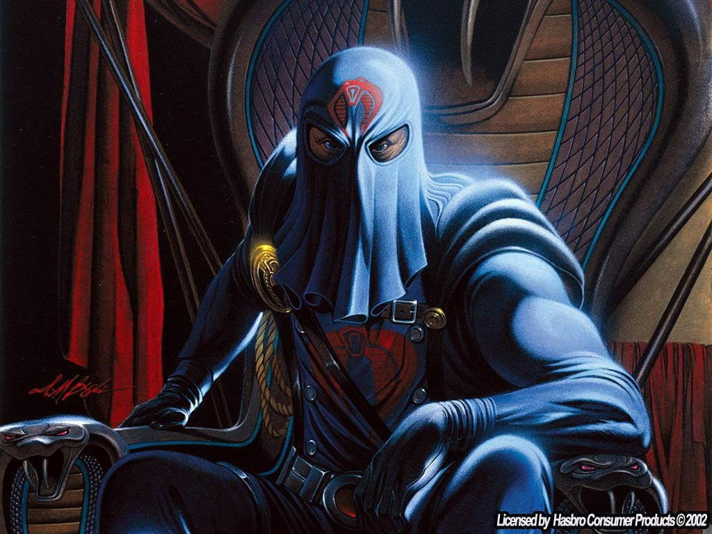 Comics Wallpaper: Cobra Commander