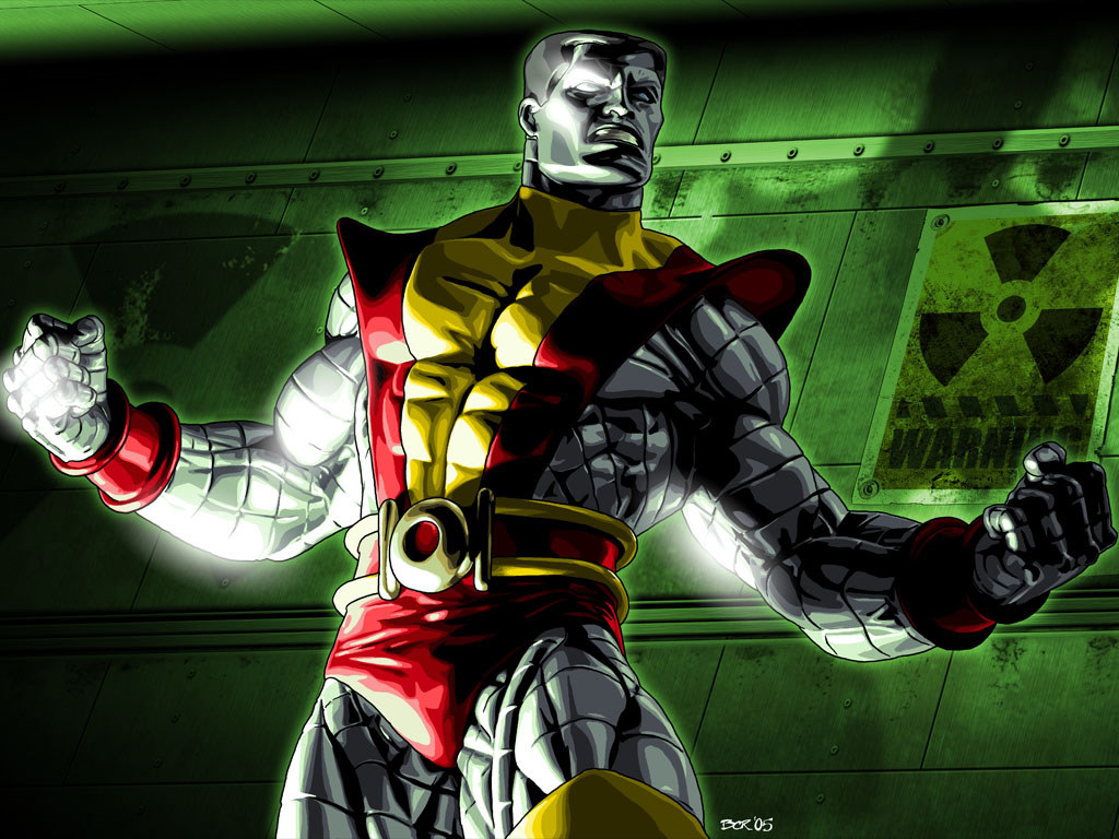 Comics Wallpaper: Colossus