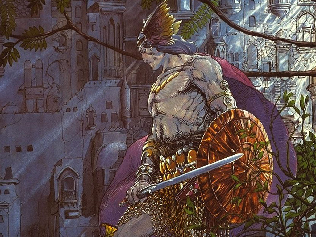Comics Wallpaper: Conan (by Barry-Windsor Smith)