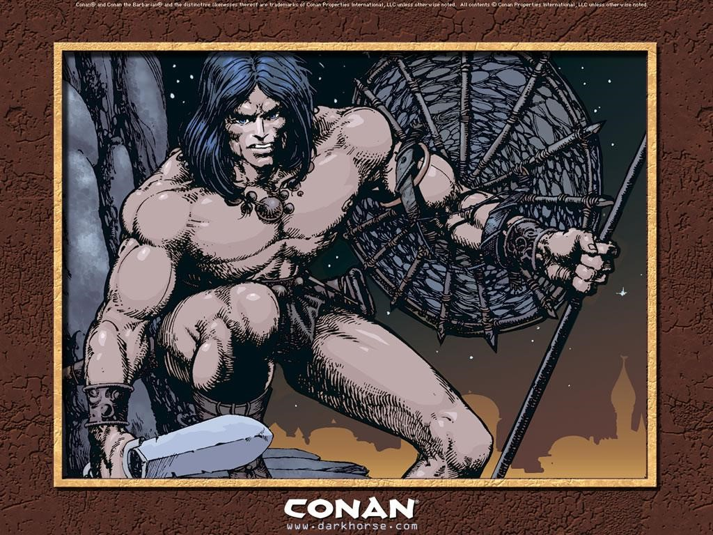 Comics Wallpaper: Conan (by Barry Windsor-Smith)