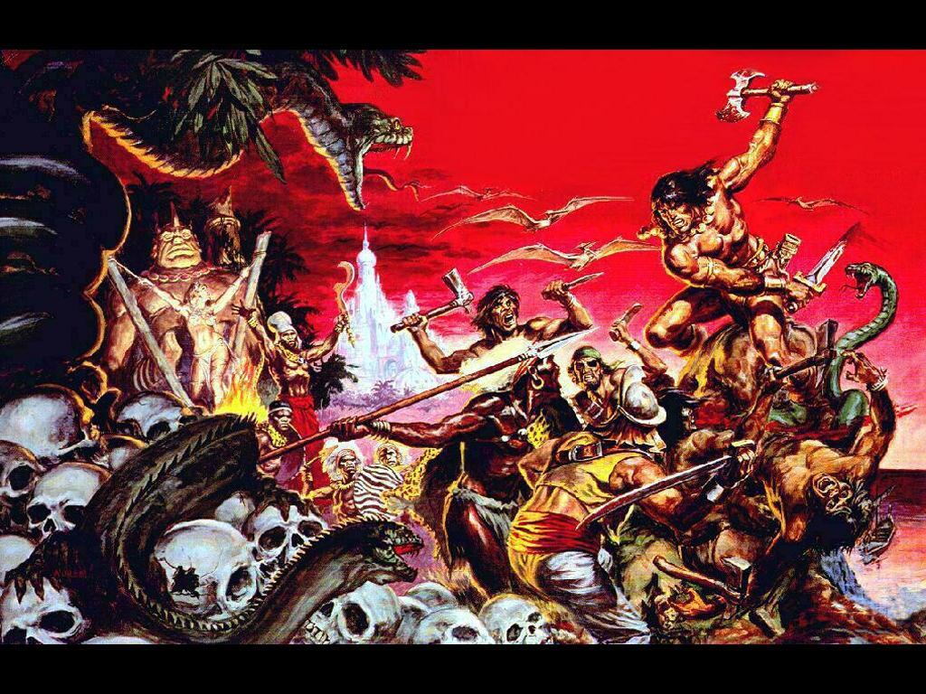 Comics Wallpaper: Conan, the Barbarian