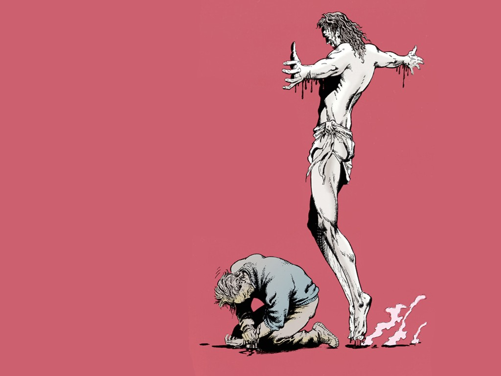 Comics Wallpaper: John Constantine - Dangerous Habits