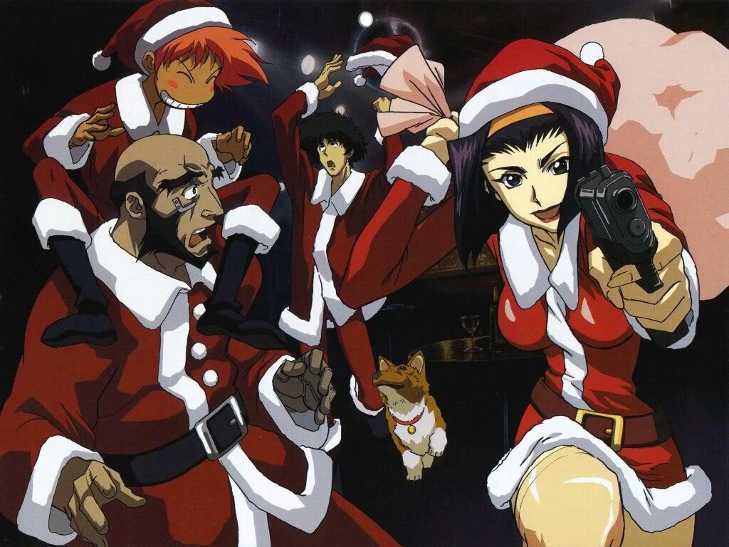 Comics Wallpaper: Cowboy Bebop - Christmas