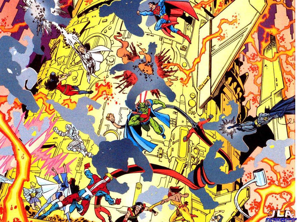 Comics Wallpaper: Crisis on Infinite Earths