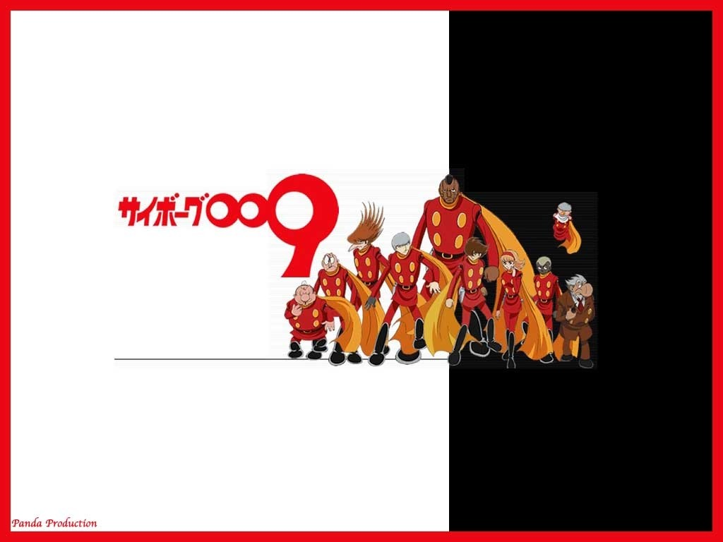 Comics Wallpaper: Cyborg 009