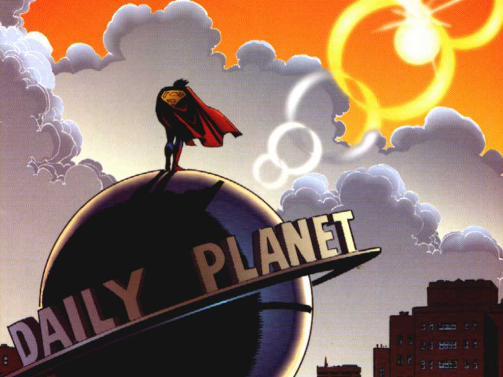 Comics Wallpaper: Daily Planet