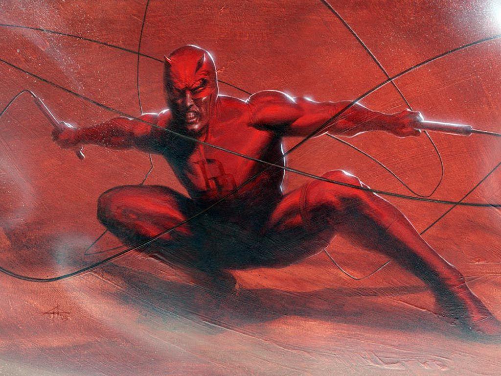Comics Wallpaper: Daredevil (by Gabriele Del Otto)