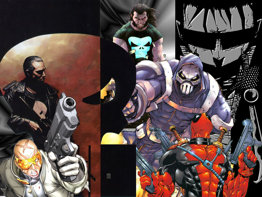 Comics Wallpaper: Dark Heroes