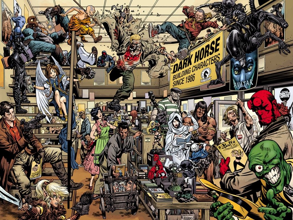Comics Wallpaper: Dark Horse - 30th Anniversary