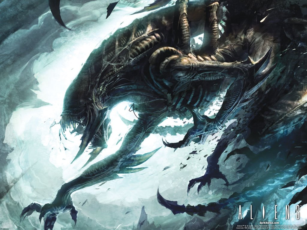 Comics Wallpaper: Aliens