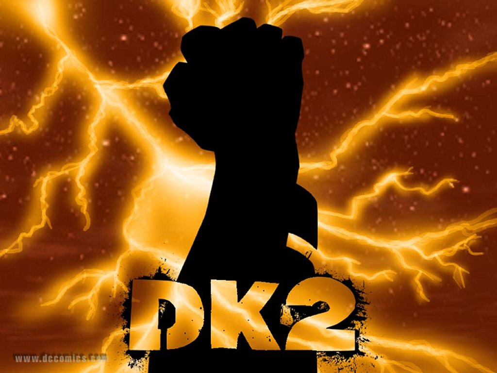 Comics Wallpaper: Dark Knight Returns - Fist