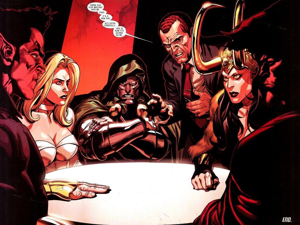 Comics Wallpaper: Dark Reign