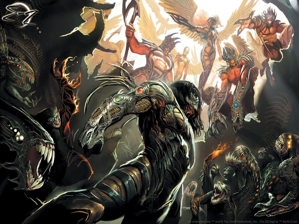 Comics Wallpaper: The Darkness