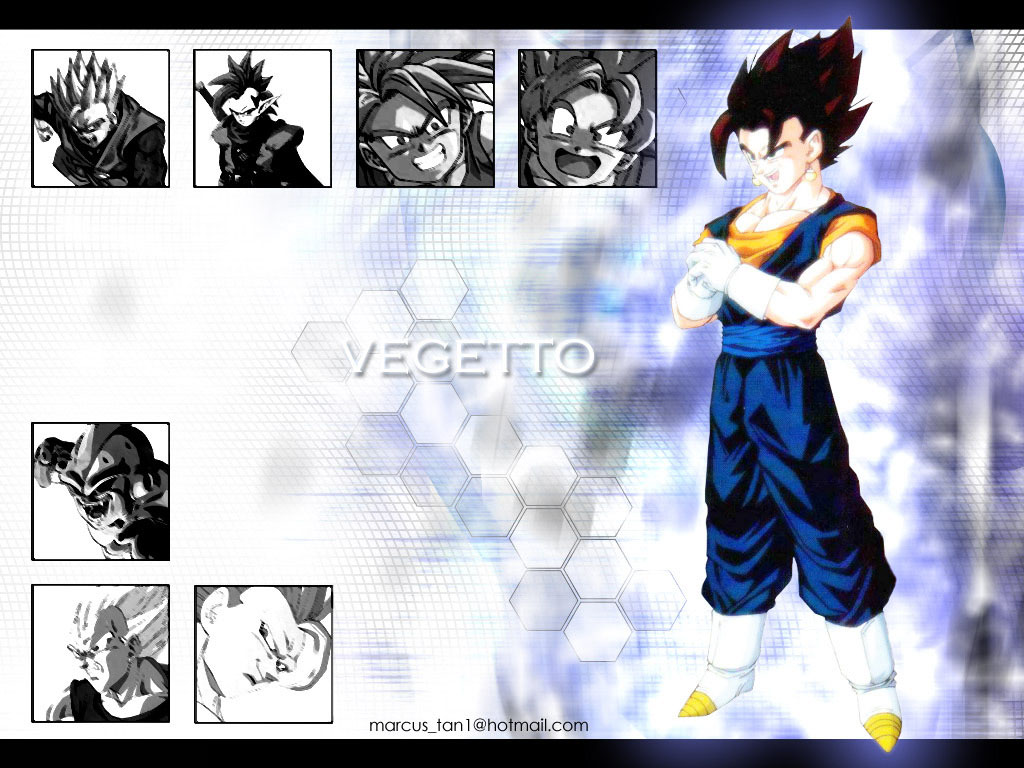 Comics Wallpaper: DBZ - Vegetto