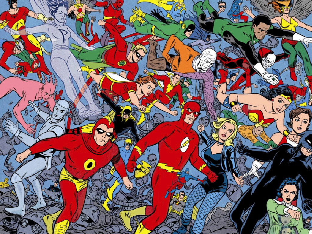 Comics Wallpaper: DC Heroes (Oldies)