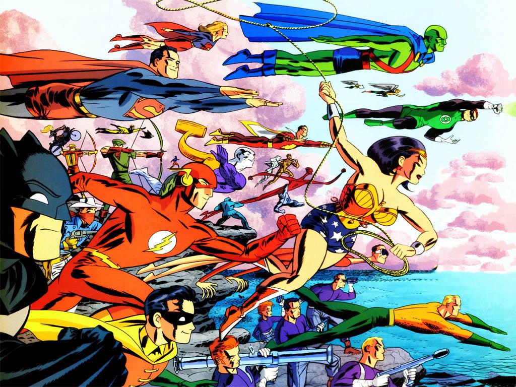 Comics Wallpaper: DC Heroes