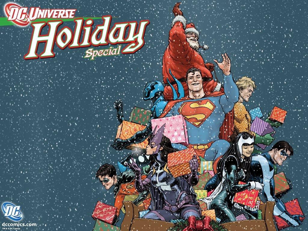 Comics Wallpaper: DC Universe - Christmas