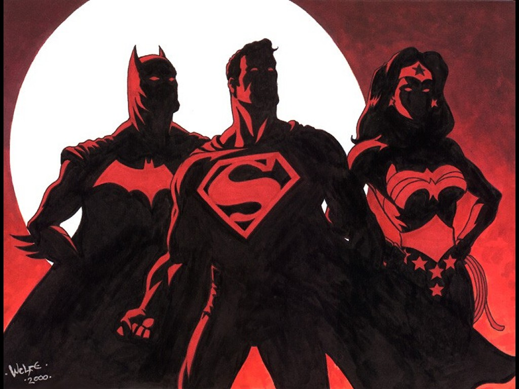 Comics Wallpaper: DCU - Trio