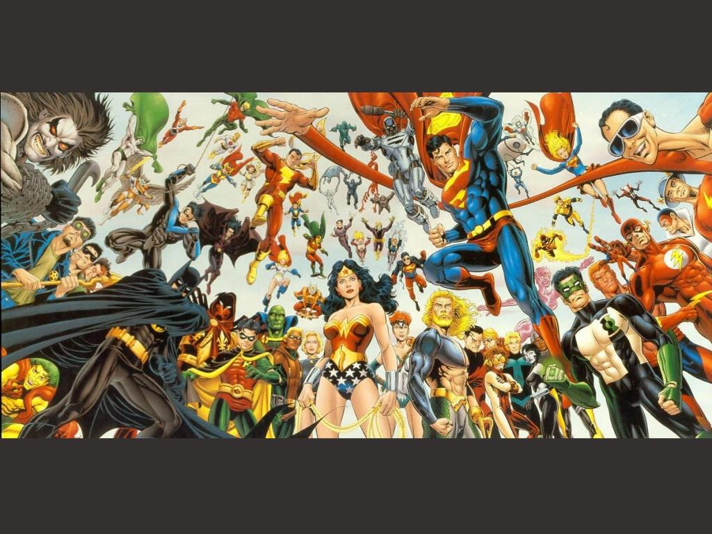 Comics Wallpaper: DCU