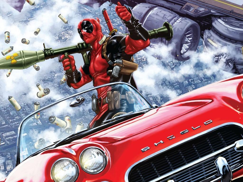 Comics Wallpaper: Deadpool