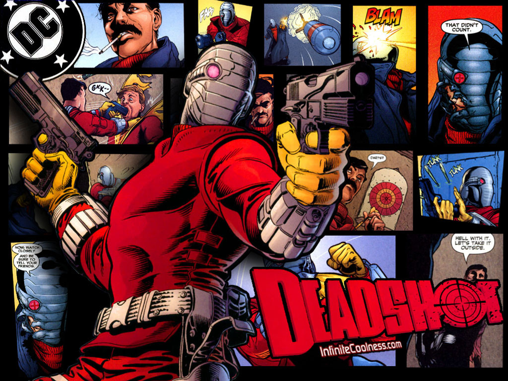 Comics Wallpaper: Deadshot