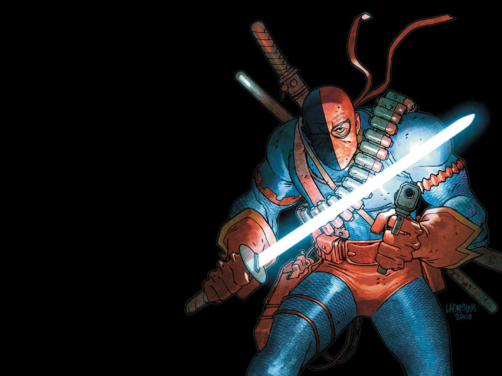 Comics Wallpaper: Deathstroke (by Ladronn)