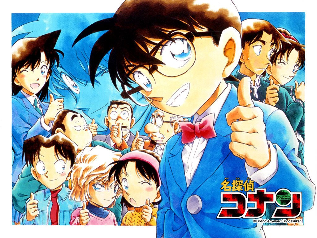 Comics Wallpaper: Detective Conan - Case Closed