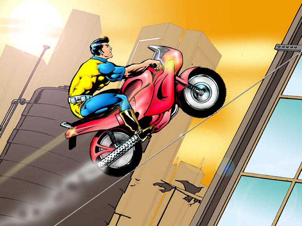 Comics Wallpaper: Dhruva