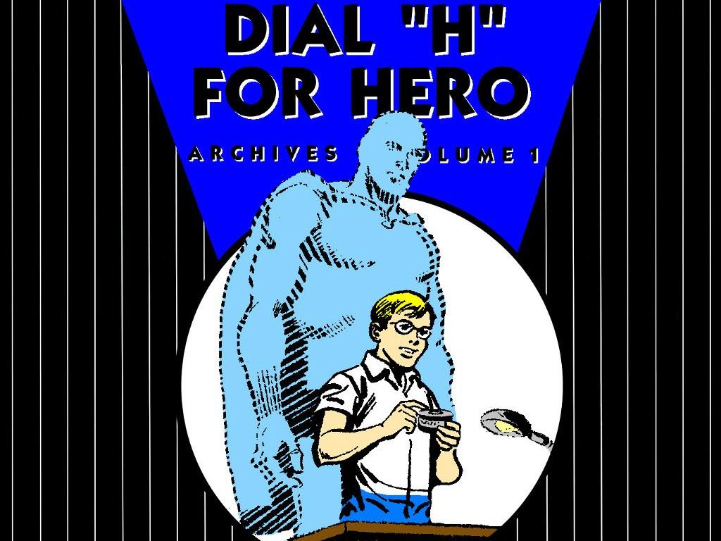 Comics Wallpaper: Dial H For Hero