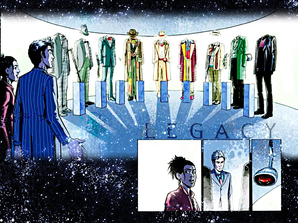Comics Wallpaper: Doctor Who - Legacy