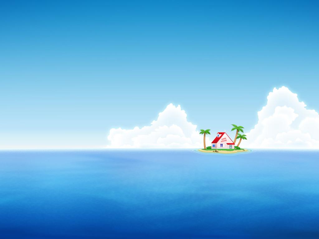 Comics Wallpaper: Dragon Ball - Kame House