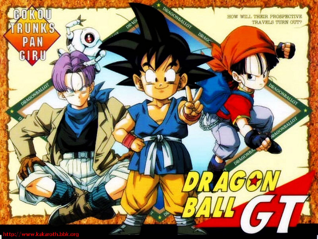 Comics Wallpaper: Dragonball GT