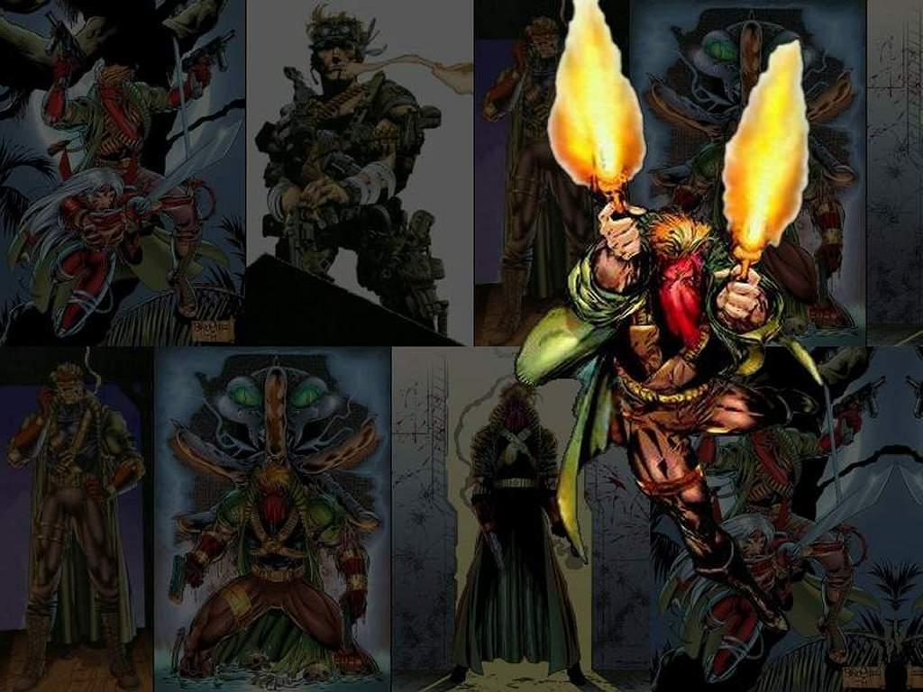 Comics Wallpaper: Drifter