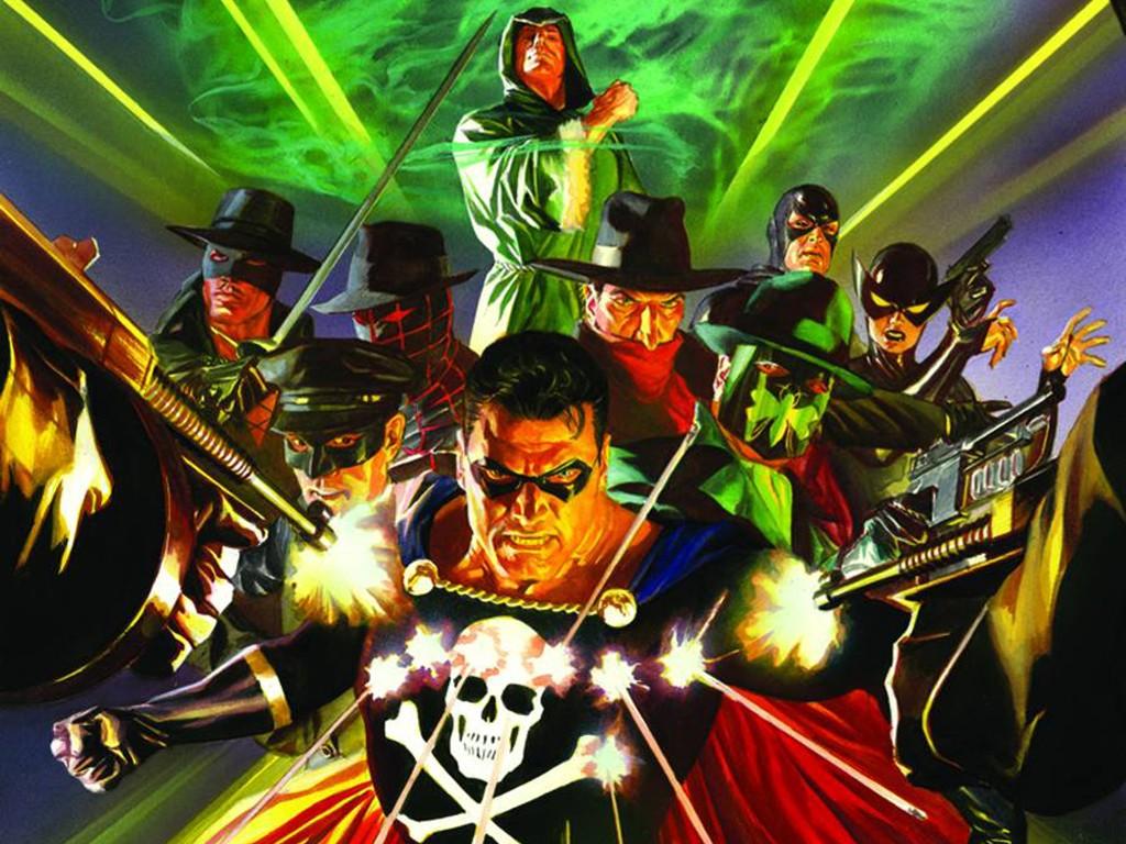 Comics Wallpaper: Dynamite - Masks